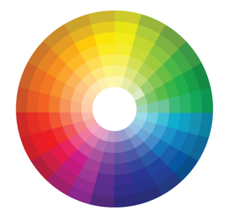 The color wheel is a great reference point if you feel color choices don't come to you instinctually.  Neutral beige toned walls would be somewhere on the left where the oranges start to move into the yellows, if that helps.