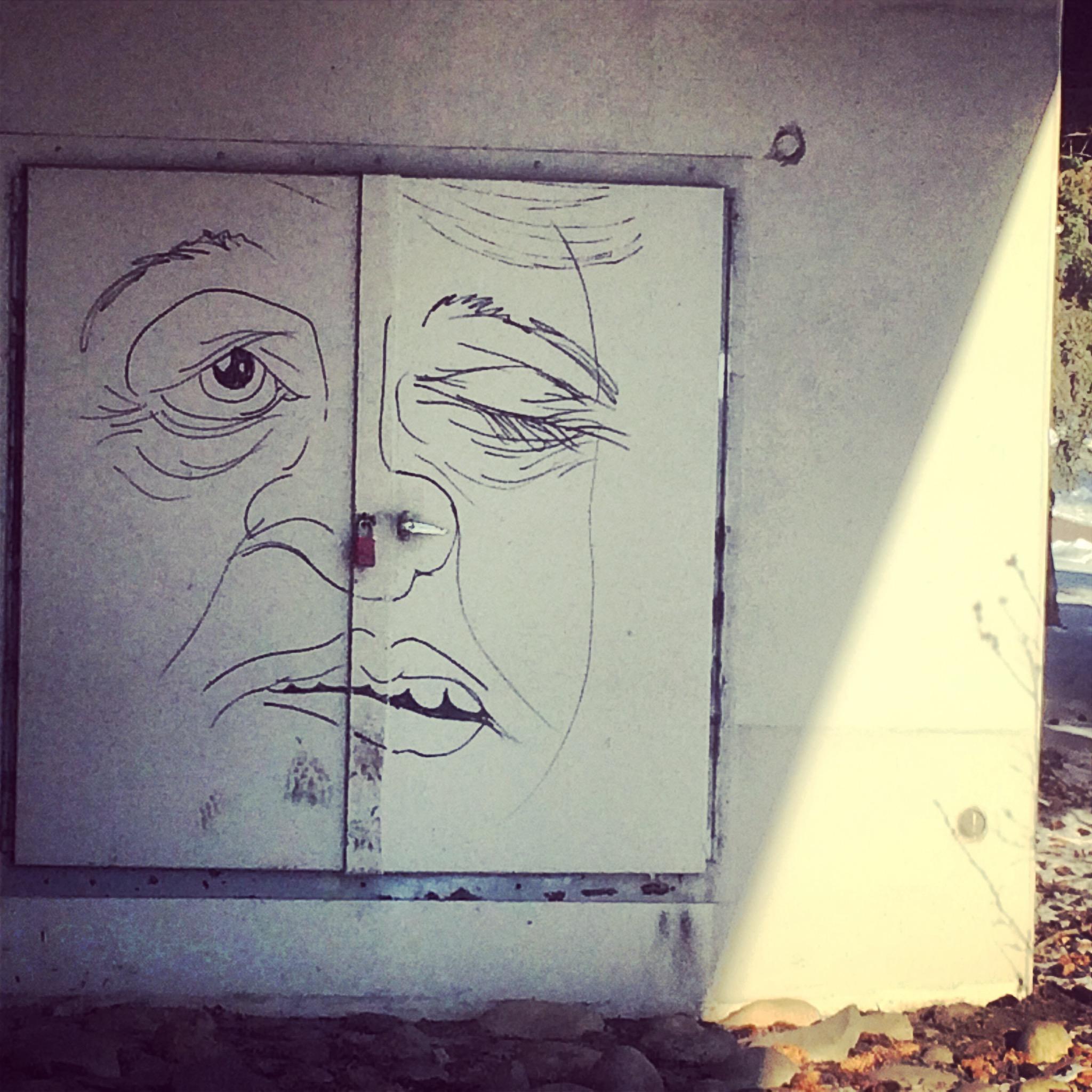 29. Public art:graffiti at 10th Street bridge.JPG