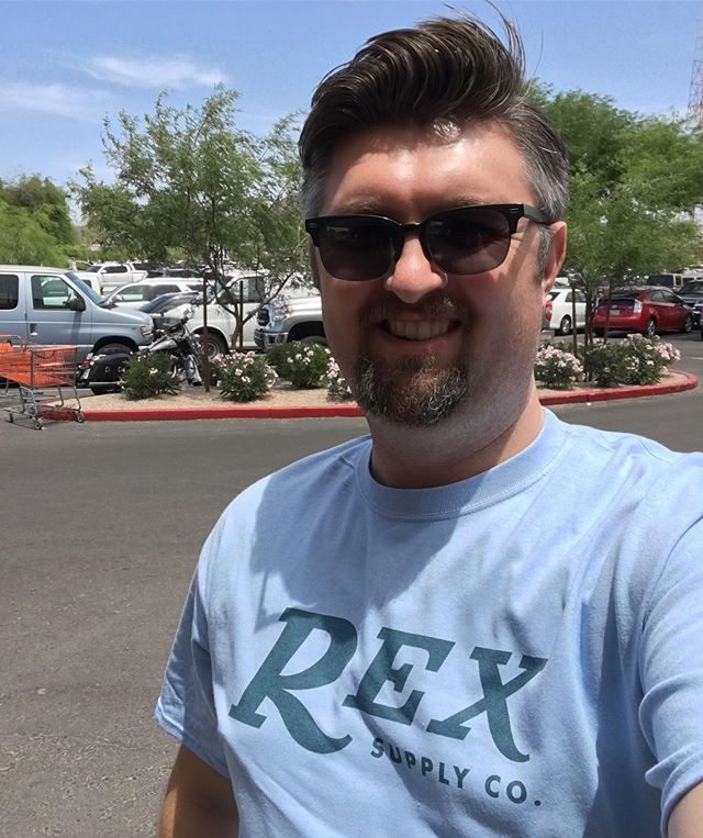 What does Instagram / Facebook think of the new shirts? Will have them at Maggards Meetup in a few days!! #rexsupplyco #rexambassador #wetshaving #madeinamerica