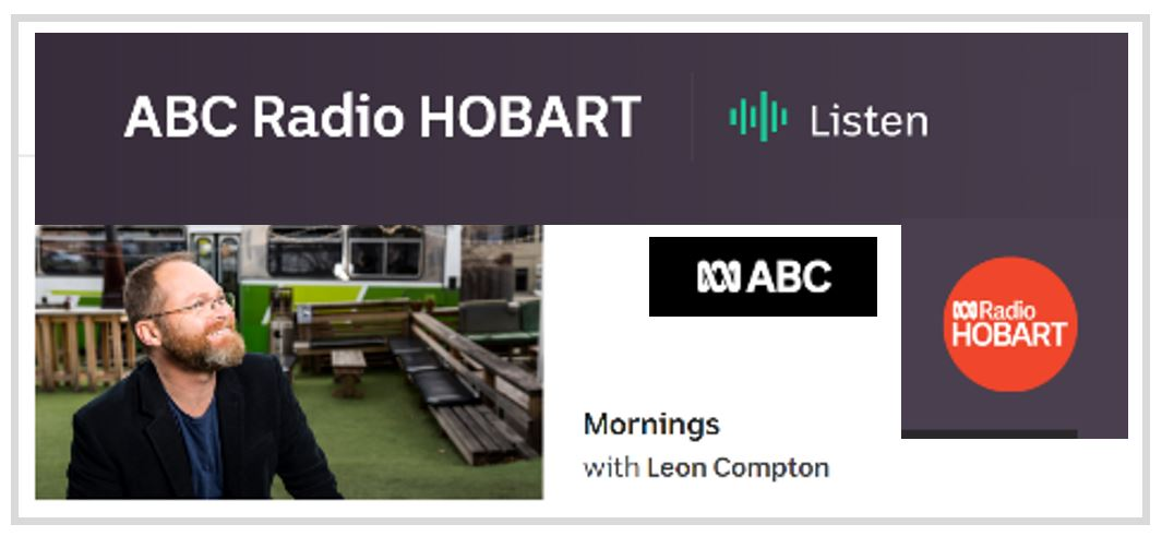 Interview on Mornings with Leon Compton.  ABC Radio Hobart  (Tasmania, Australia). October 5, 2017.  Topic:  How does DNA forensics work?
