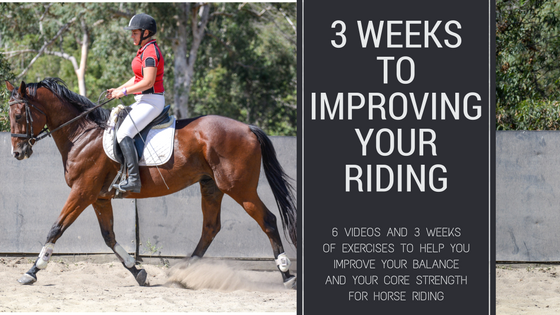 3 Weeks to Improving Your Riding Course