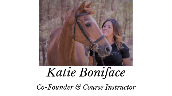 Katie Boniface is the Co-Founder of Equestrian Movement. With over 25 years of riding & training and 13 years of instructing riders, Katie created this course when she realised that most horse training doesn't help you connect with your horse at a deeper level. Katie has helped over 100 people with their horses and helped them to develop the skills that create a harmonic working environment that encompasses their horse's best interest and well-being.