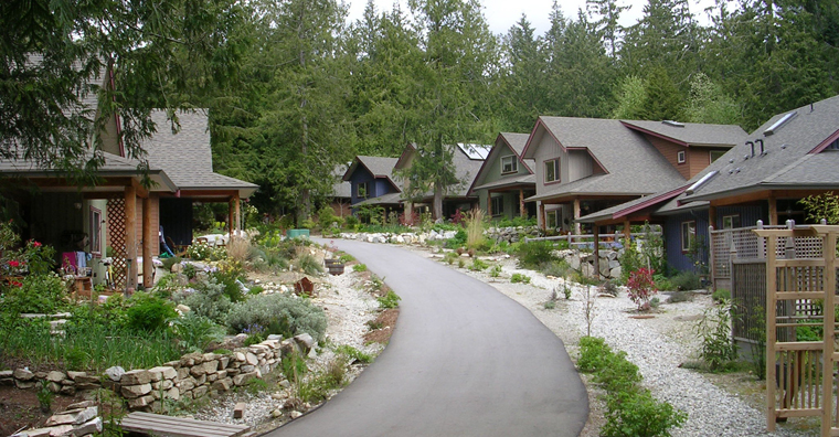 Roberts Creek Cohousing, Sunshine Coast, B.C.