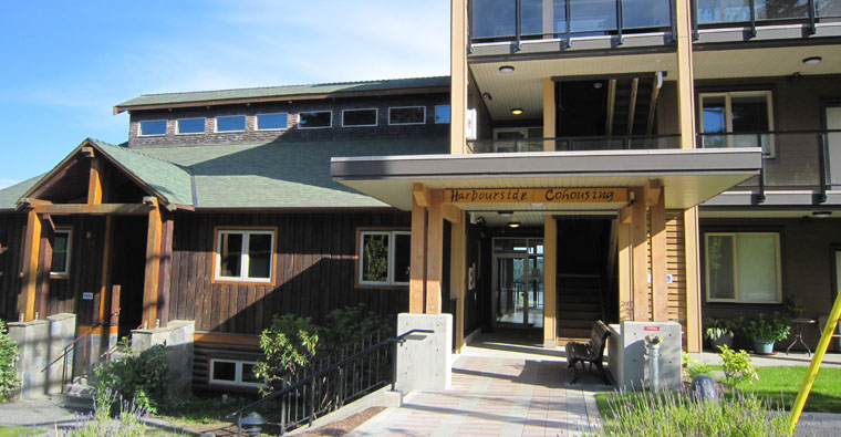 Harbourside Cohousing, Sooke, B.C.