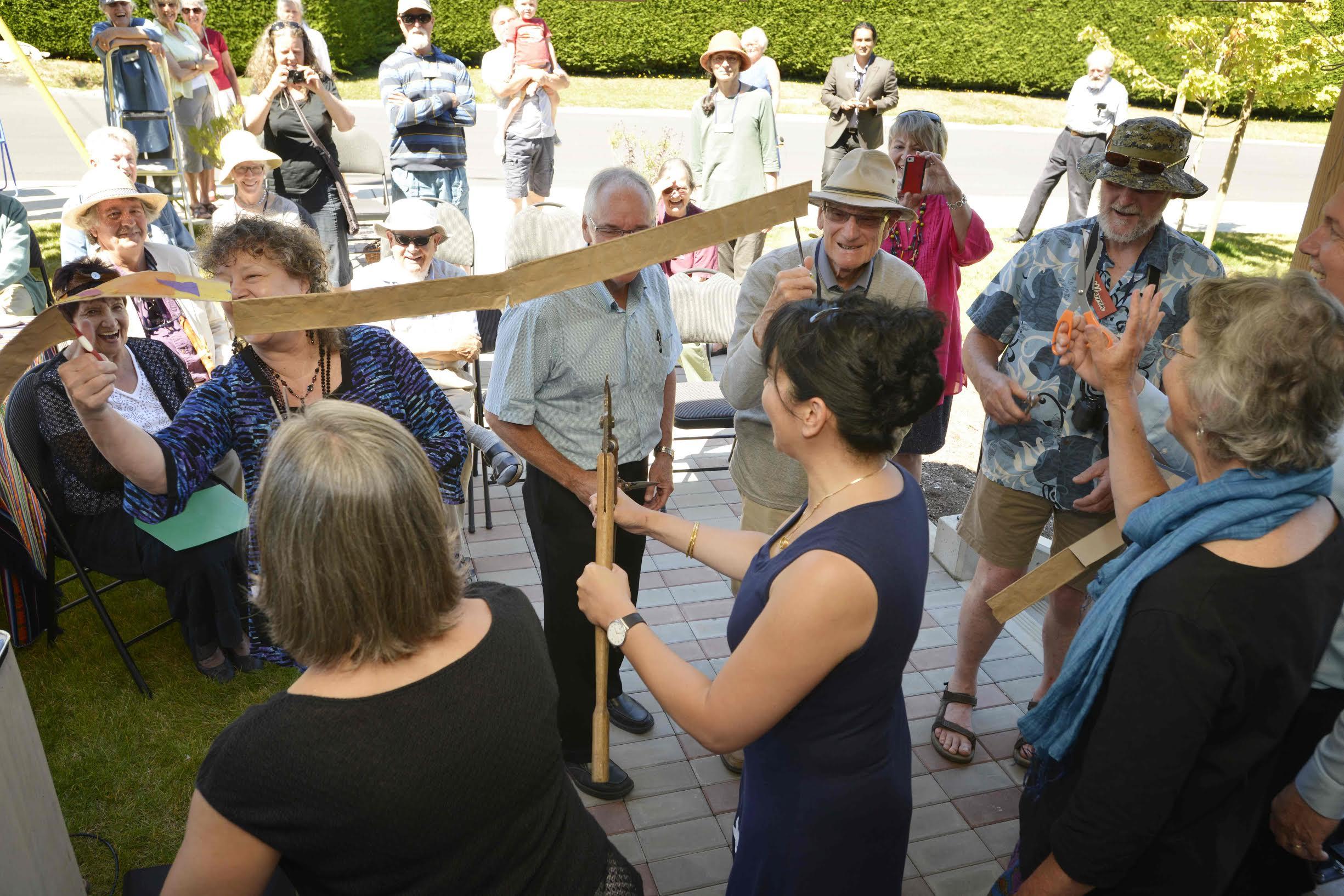 Opening of Harbourside Cohousing Community