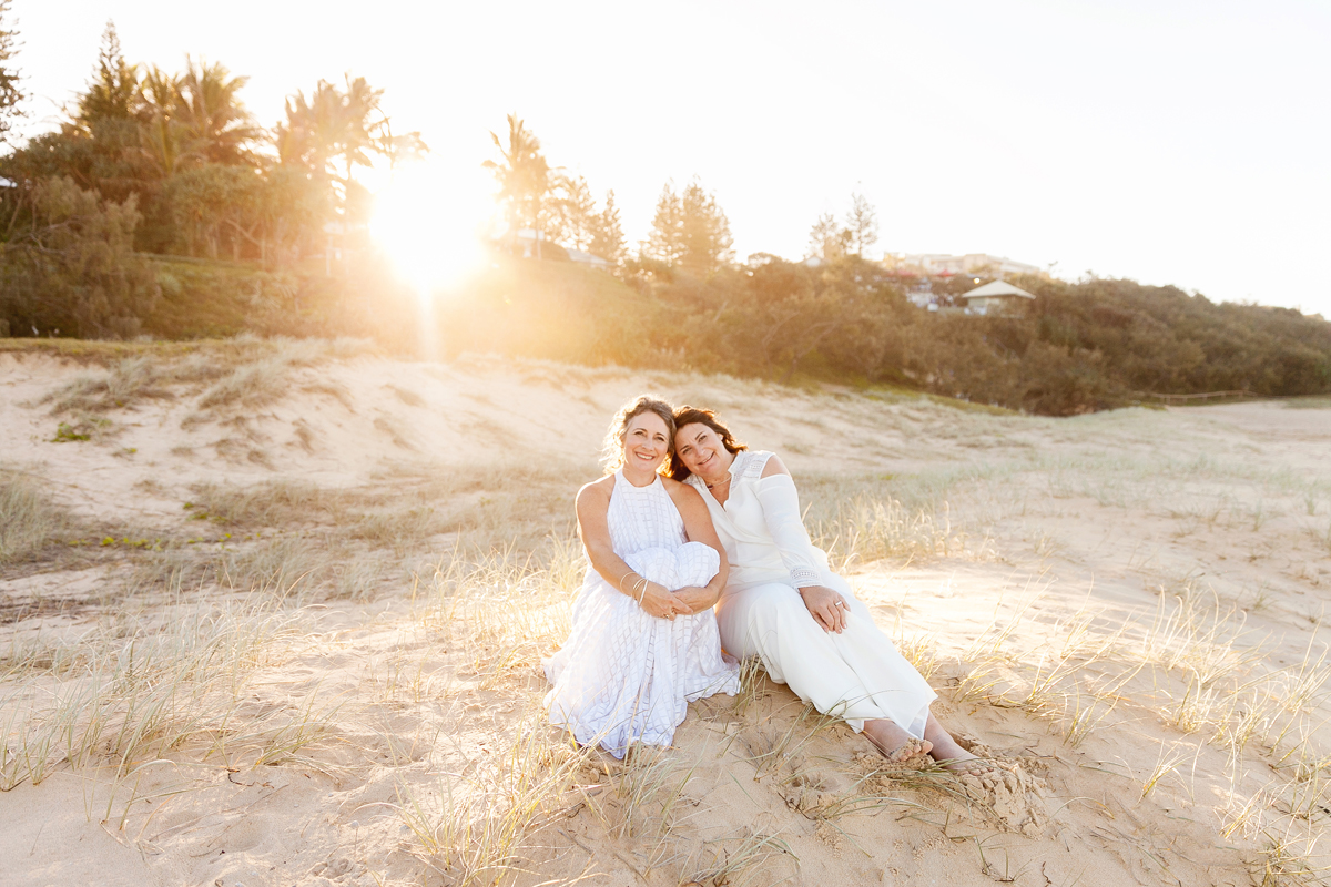 You captured our day perfectlywith so many candid and heartfelt shots! - - Sharon & Pauline @Sunshine Beach