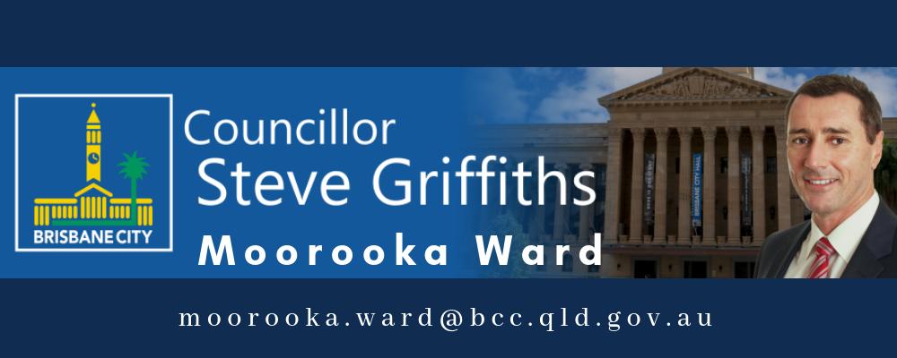 brisbane city Councillor steve griffiths, moorooka ward.