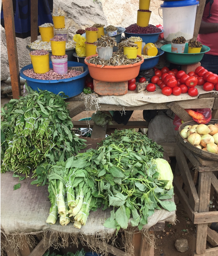 Linkages between urban food security and rural farming systems -