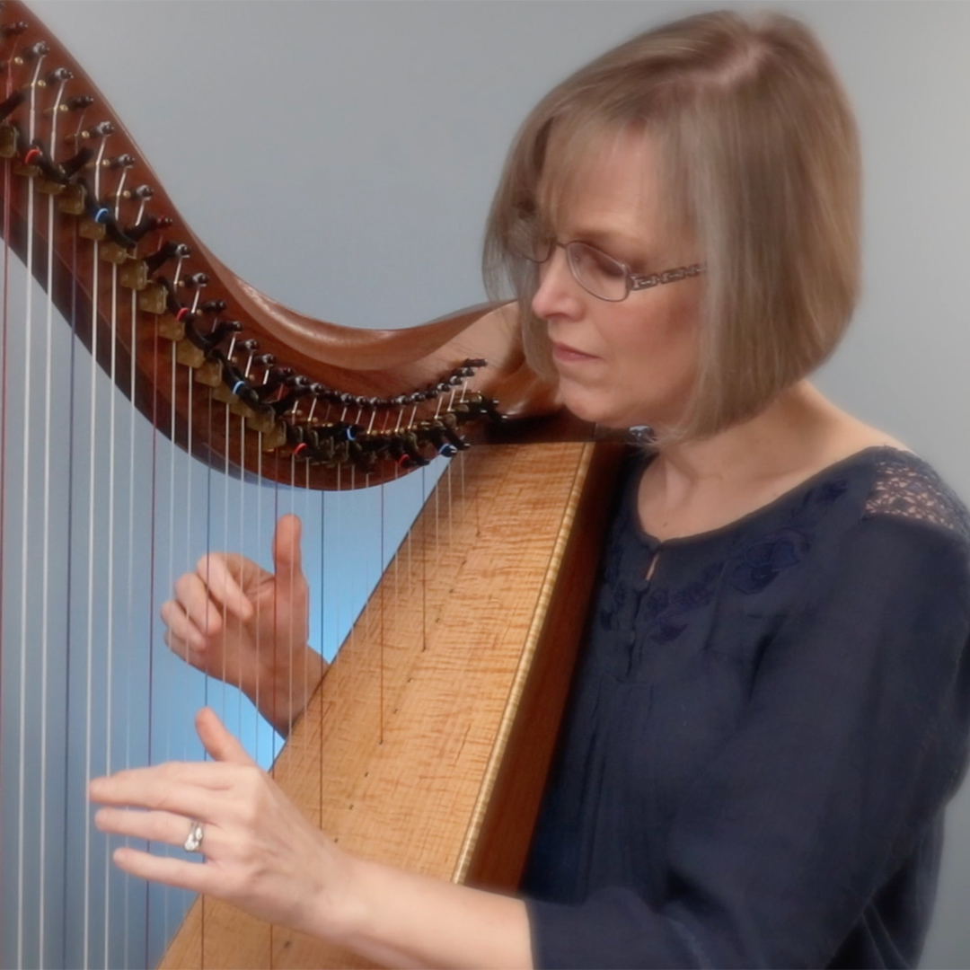 Harp Therapist - Though my classical training is at the piano, I studied the harp as an adult. I am a Certified Clinical Musician and have played hundreds of hours for patients in long term care facilities.