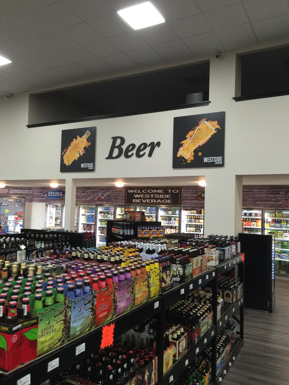 westside beverage beer selection