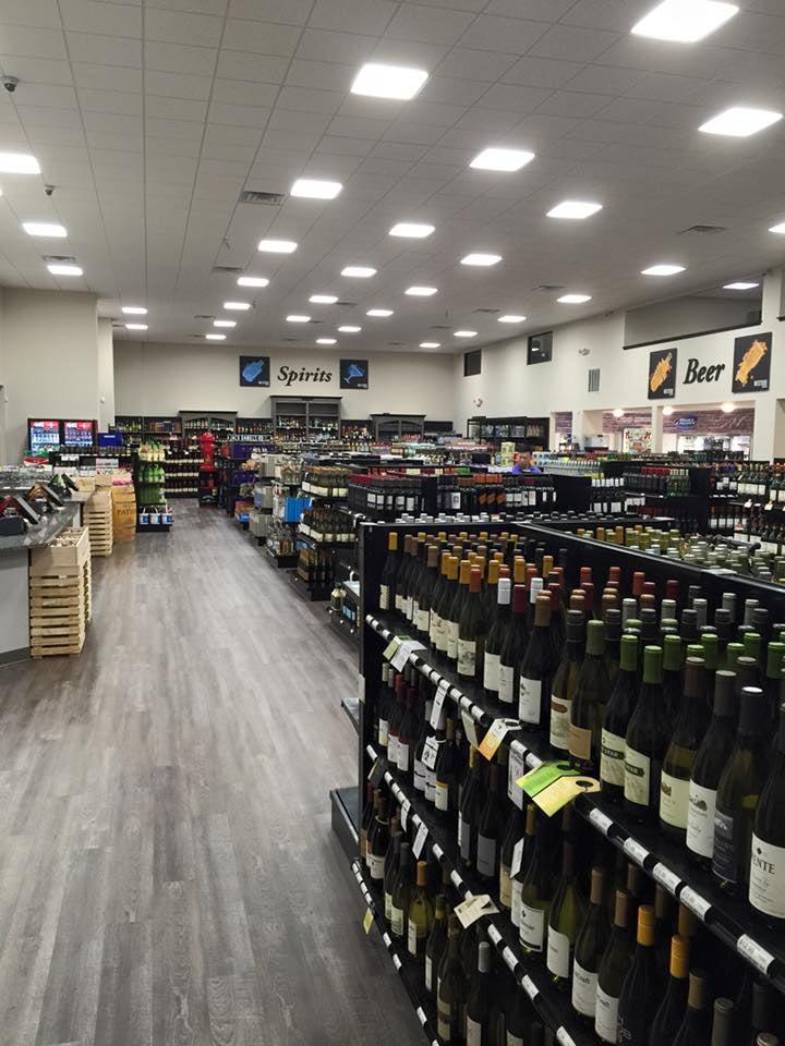 westside beverage store layout