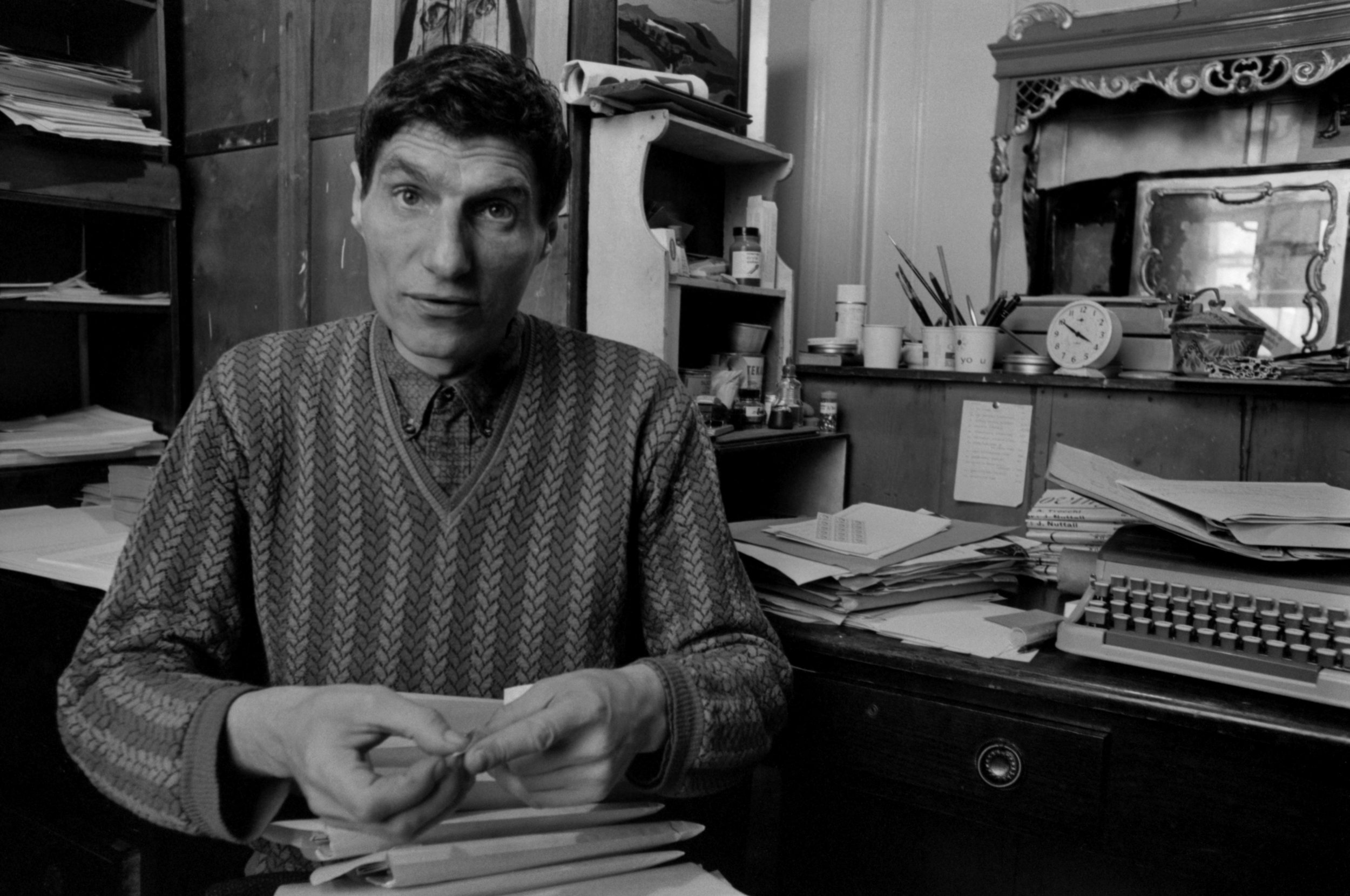 Alexander Trocchi en 1964. Fotografía:The Estate of John Hopkins