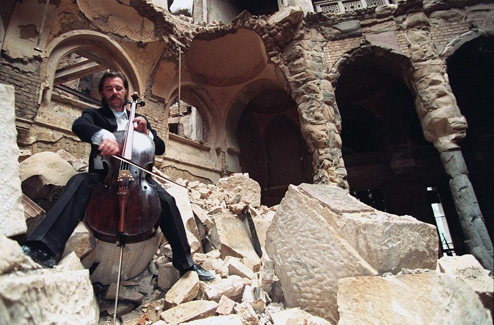 Fotografía: Michael Evstafiev (Sarajevo, 12 de septiembre de 1992)
