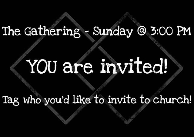 We are so pumped to get back to our regular schedule! Who are you inviting this week?! #TheGathering