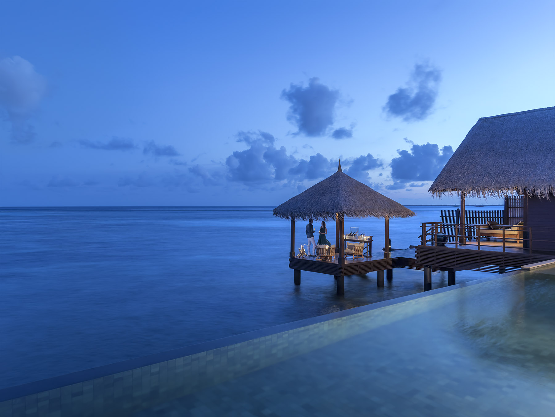 Courtesy Shangri-La's Villingili Resort & Spa, Maldives