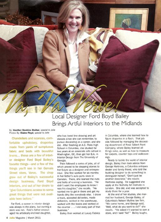 Va Va Verve Jolie Magazine 2011
