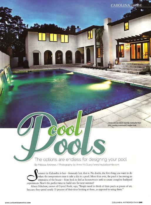 Cool Pools Columbia Metropolitan 2010
