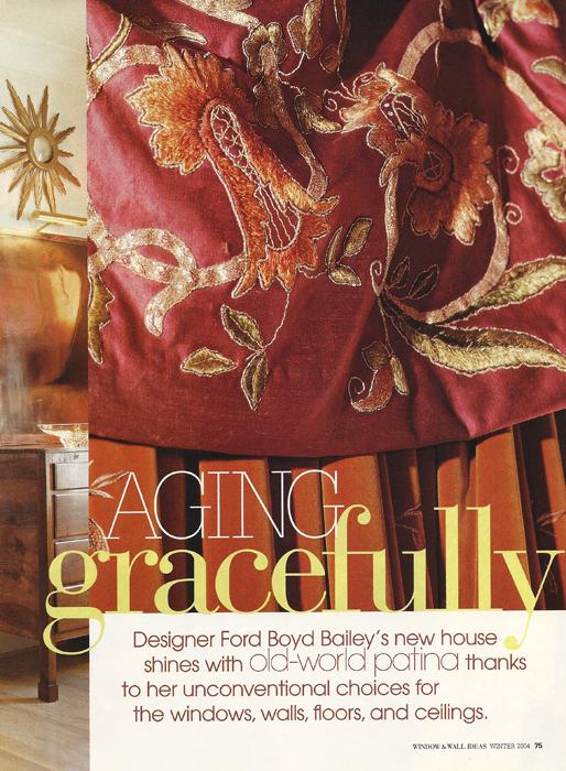 Aging Gracefully Windows & Wall Ideas 2004
