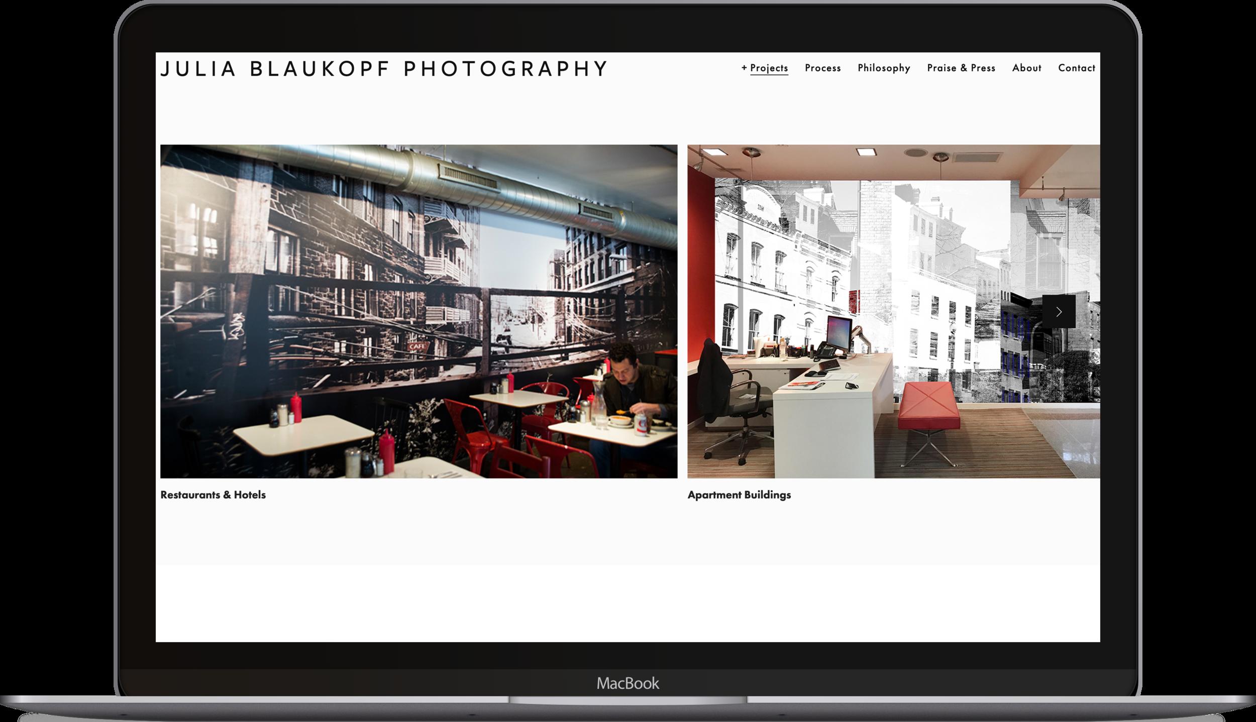 Julia Blaukopf | Web design & UX Writing