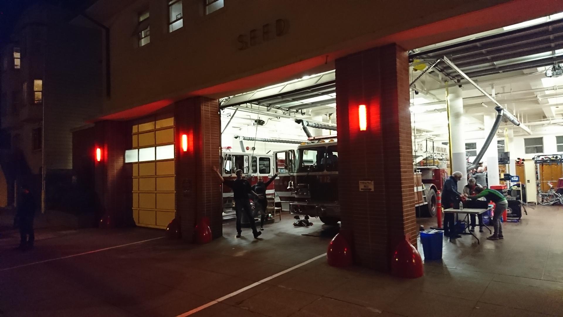 San Francisco, 2018.  Für mehr Informationen über den diesjährigen Austausch besuchen sie Facebook-Seite  Deutsch-Amerikanischer-Feuerwehraustausch . oder lesen sie unseren  Blog-Artikel .