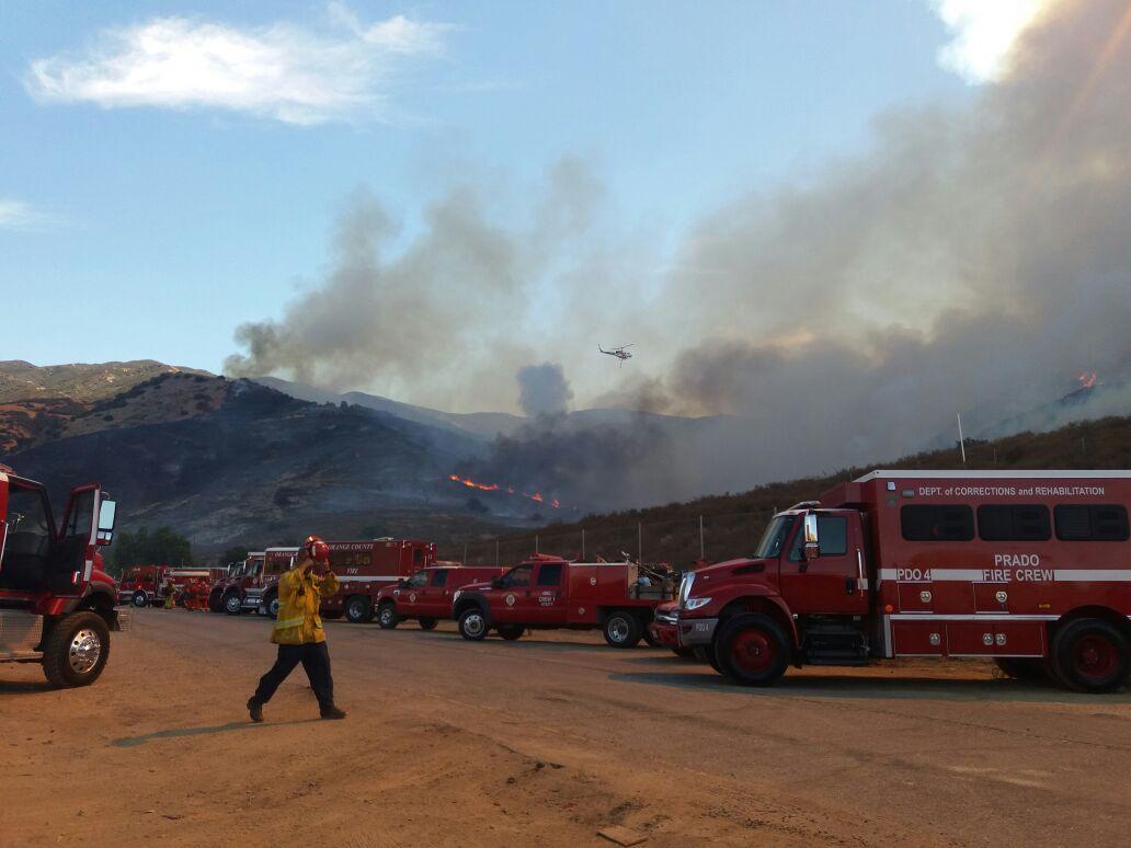 Waldbrände in Kalifornien - Spendenaktion