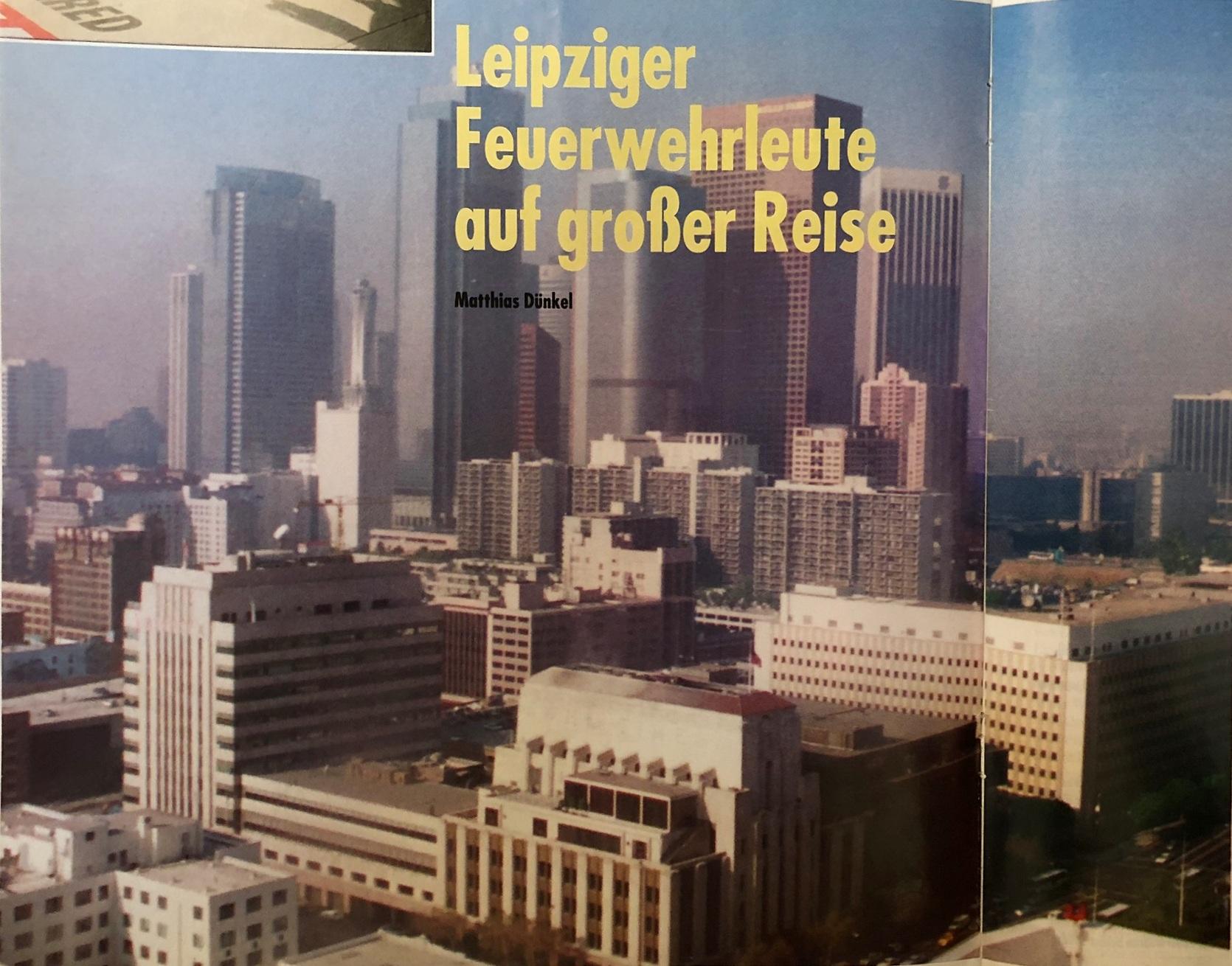 """Aus """"Unabhängige Brandschutzzeitschrift"""" 2/94"""