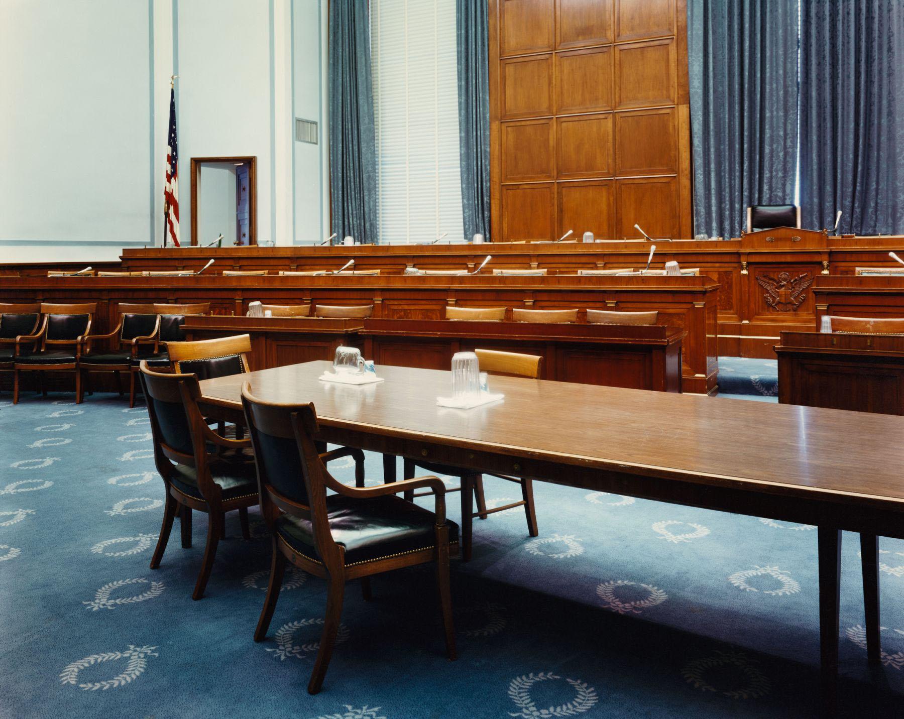 Room 2154, Rayburn House Office Building, Washington, D.C., April 1995