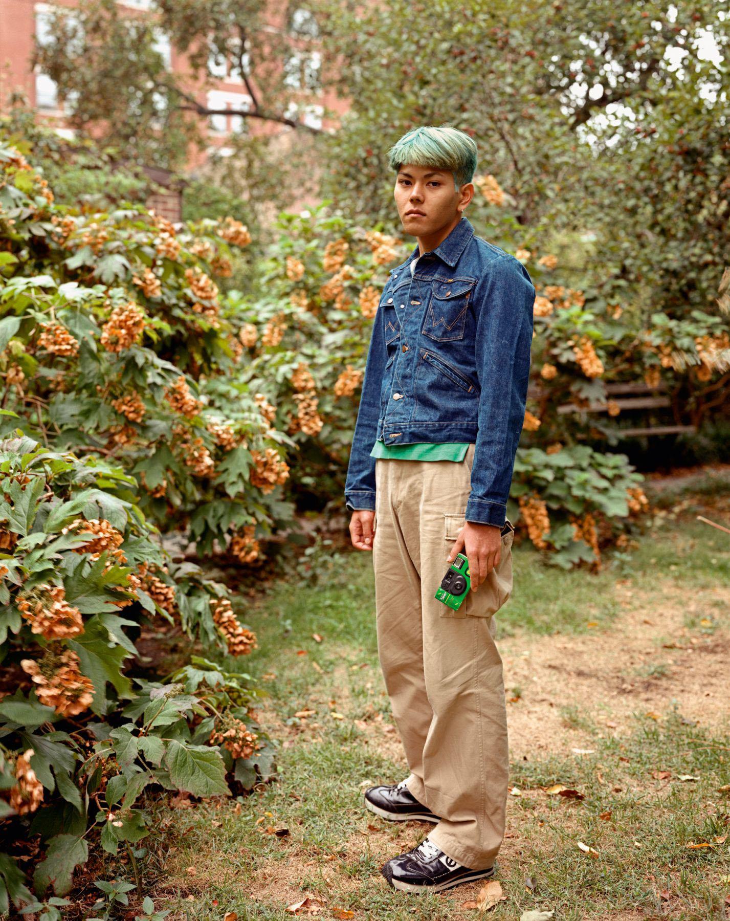 A Tourist in Greenwich Village, New York, New York, October 1994