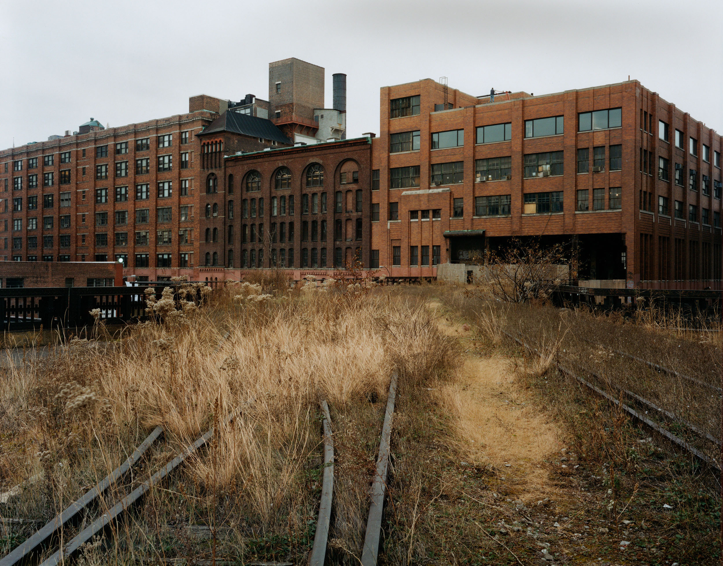 Looking South towards Chelsea Markets, December 2000