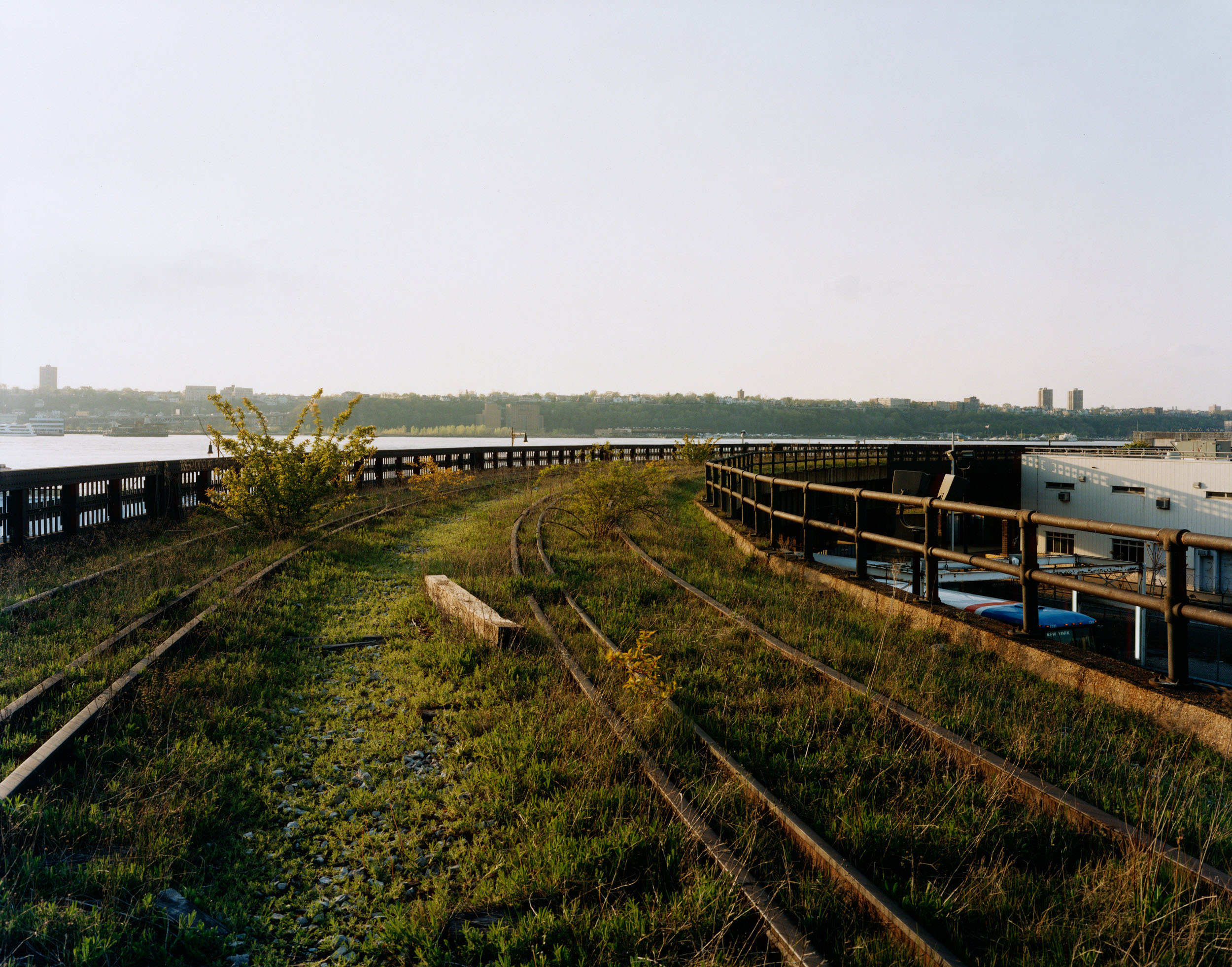A Spring Evening, the Hudson, May 2001