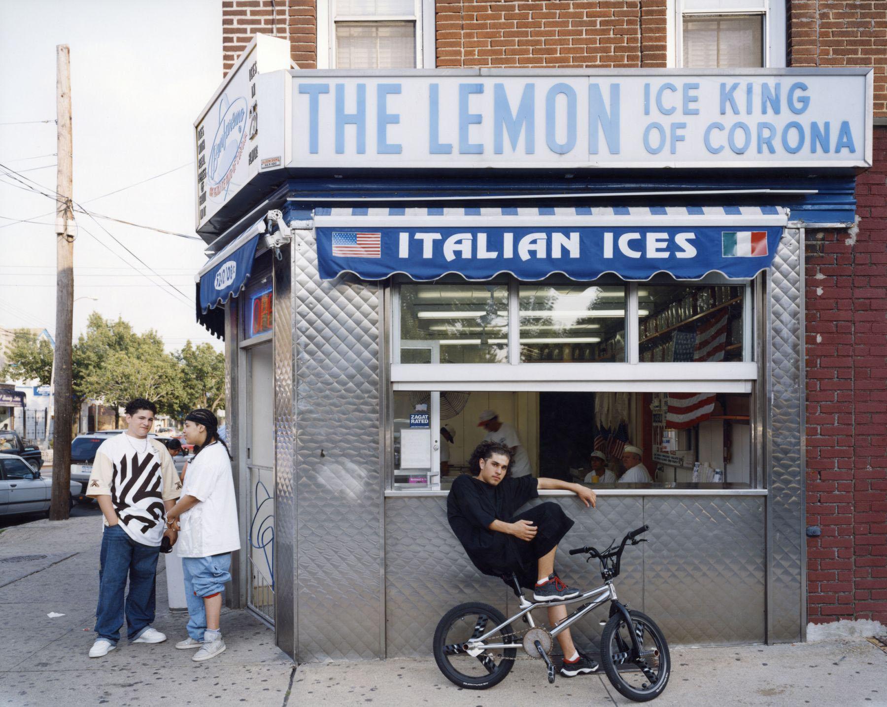 Ben Faremo, The Lemon Ice Queen of Corona , 52-02 108 Street, Corona, Queens , June 2003