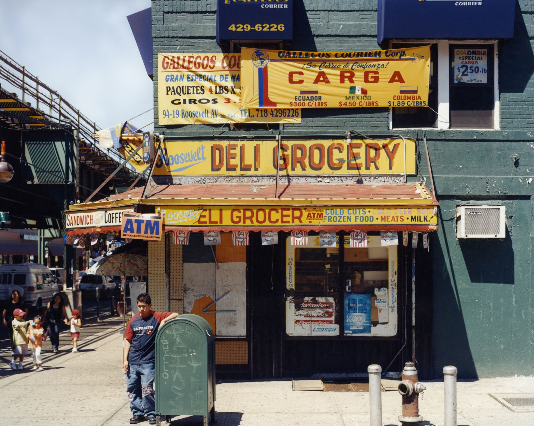 Roosevelt Deli Grocery , 95th Street and Roosevelt Avenue, Jackson Heights, Queens , June 2004