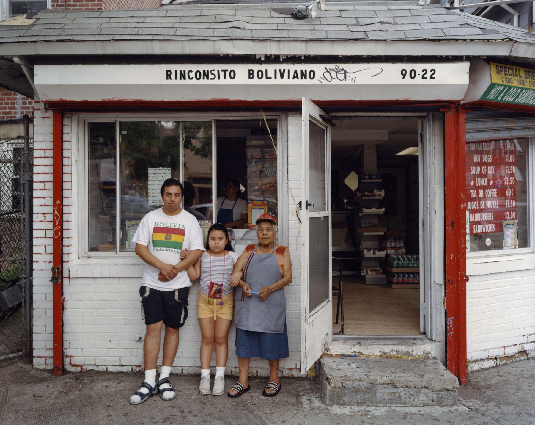 Rinconsito Boliviano, 90-22 Corona Avenue, Corona, Queens , September 2003