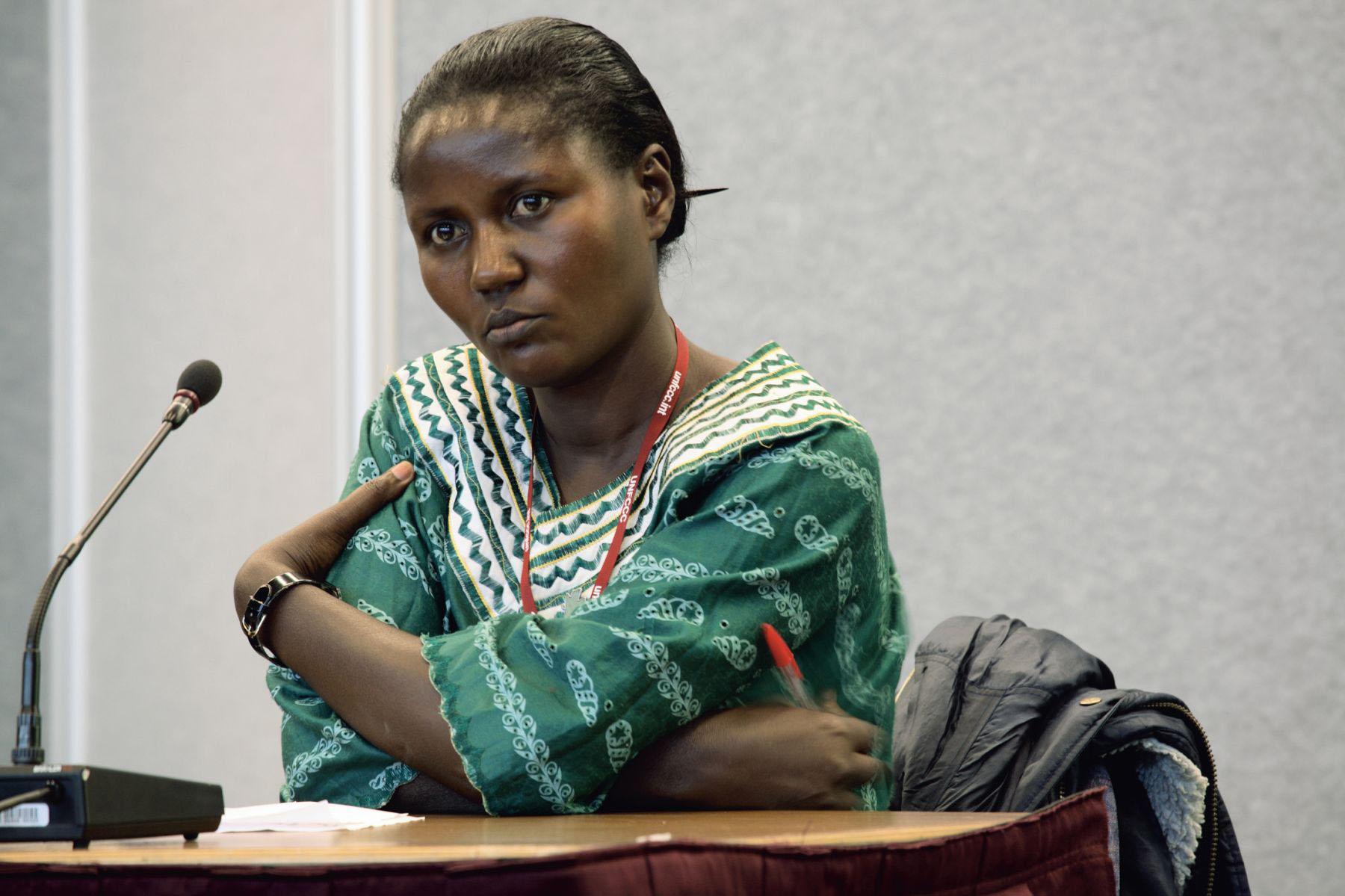 Beatrice Ahimbisibwe, educator and international carbon consultant, Bushenye, Uganda, 2005