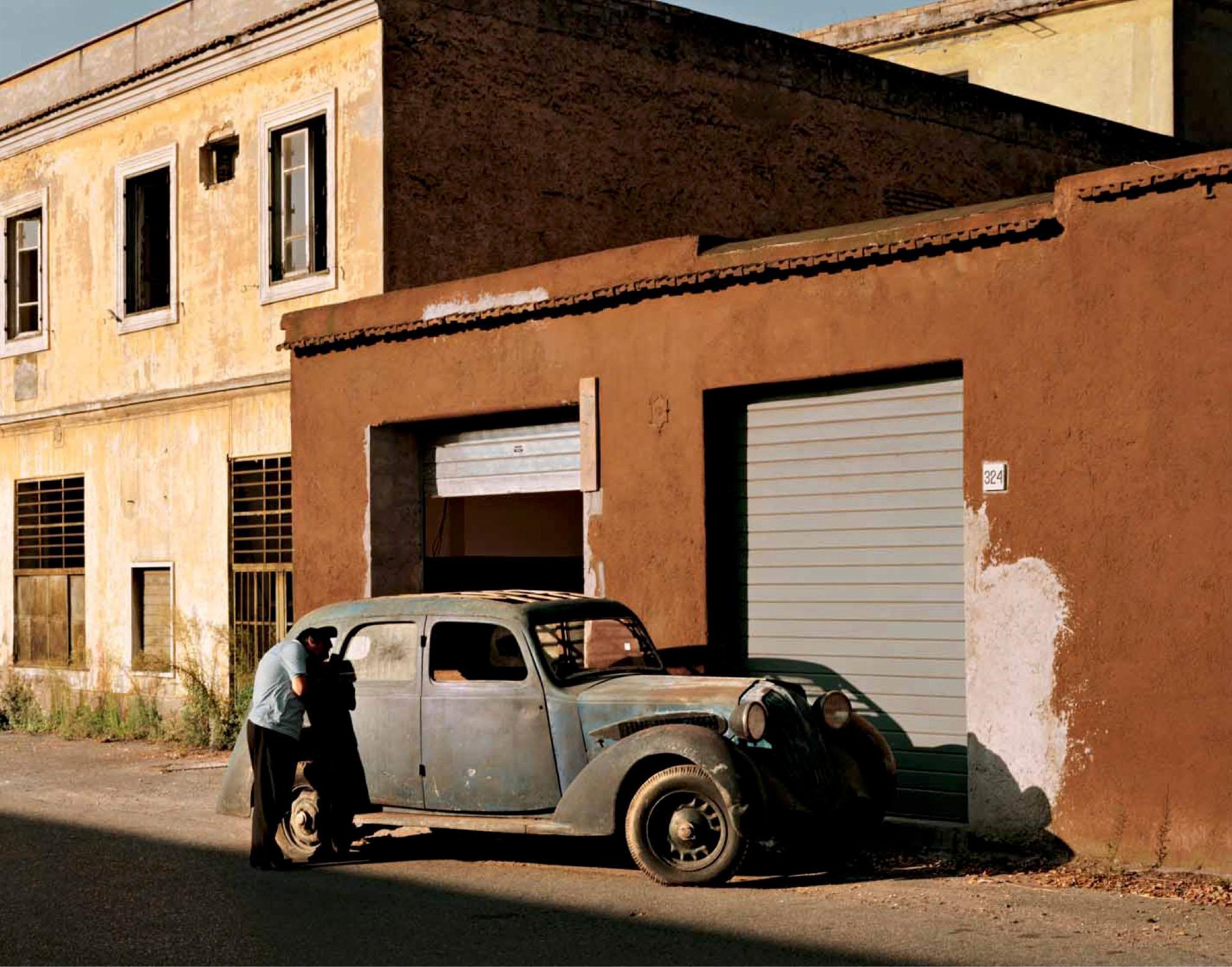 Near Quattro Miglio, Rome, July 1990