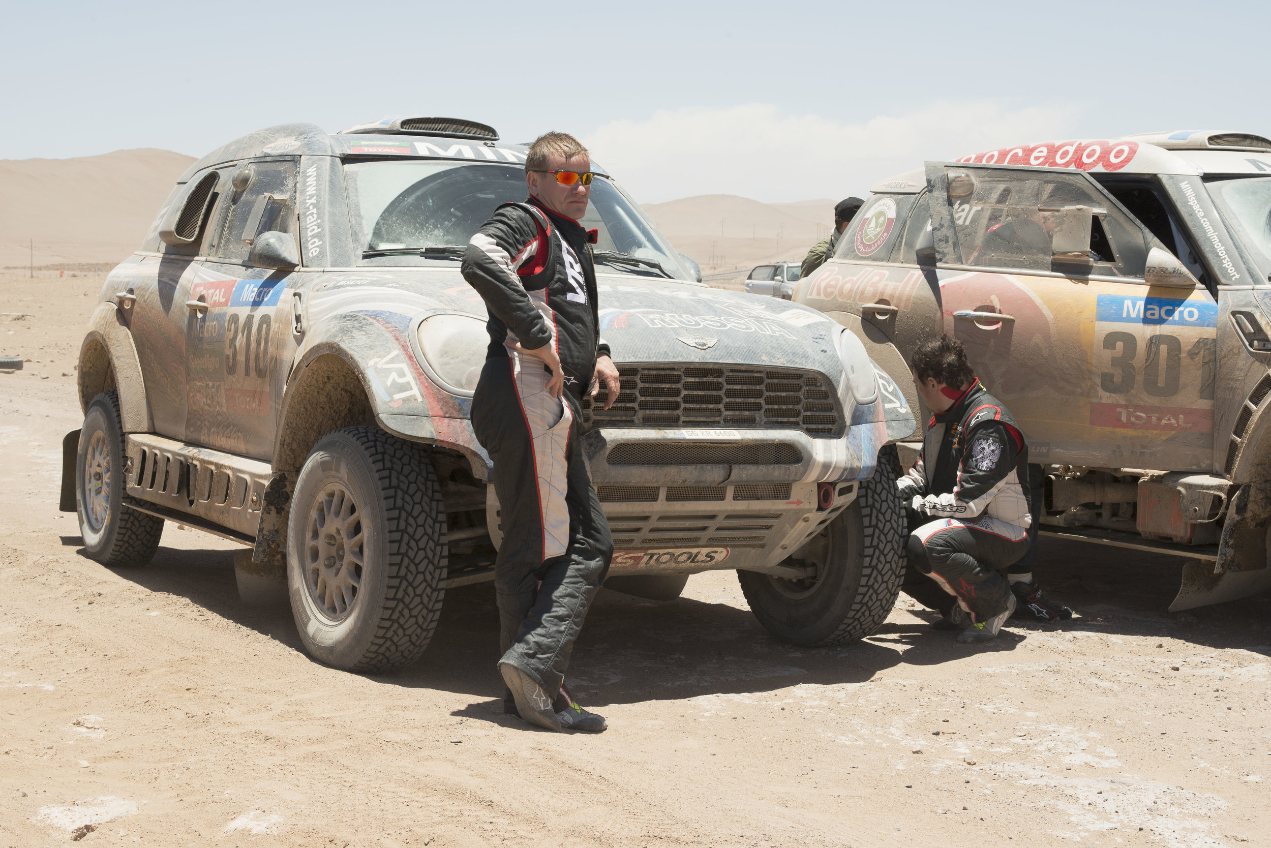 The Paris / Dakar Auto Rally, near Iquieque, Chile