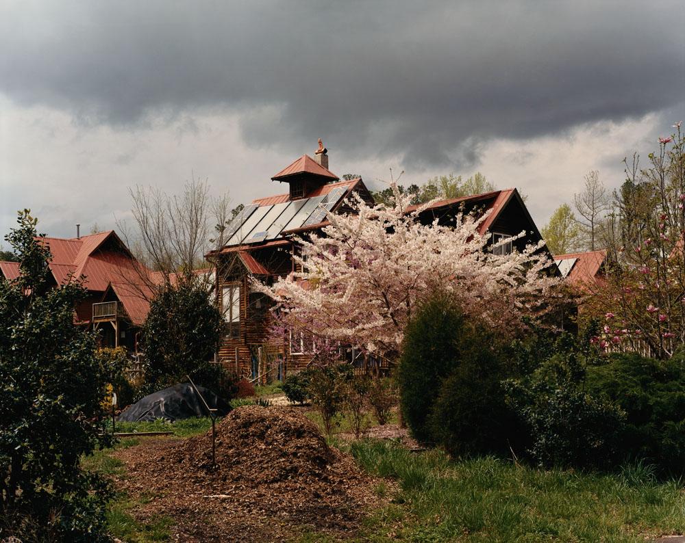 Arcadia Cohousing, Carrboro, North Carolina, April 2005.