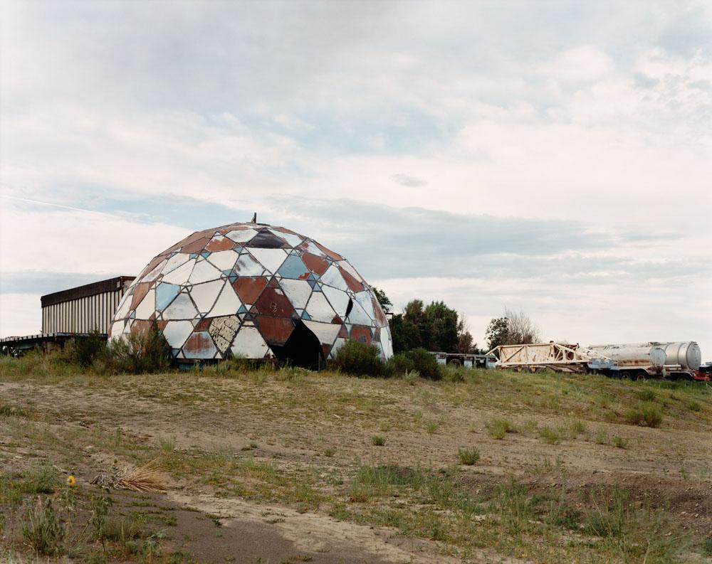 Ruins of Drop City, Trinidad, Colorado, August 1995.