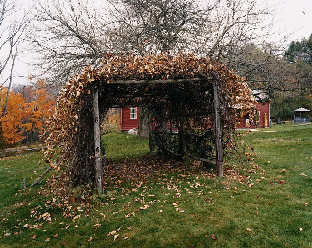 Fruitlands, Harvard, Massachusetts, October 2004.