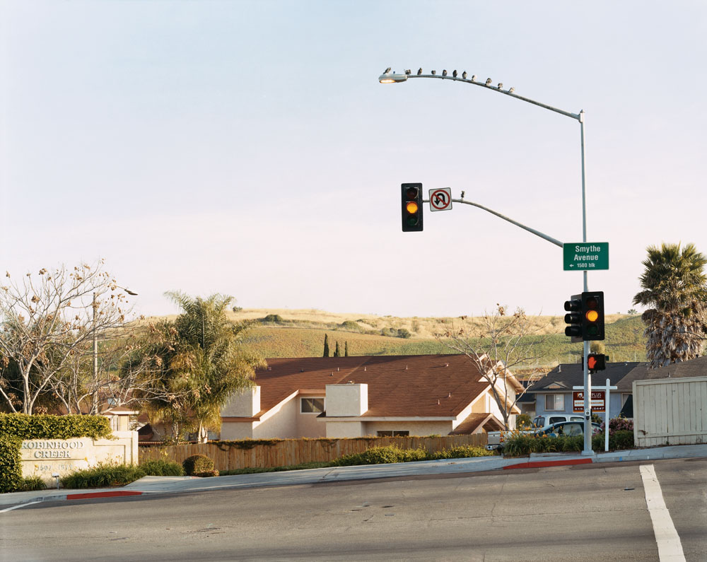 Robin Hood Estates, Smythe Avenue, San Ysidro, California, March 2005.