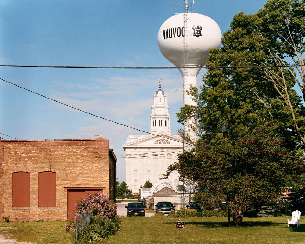 Mormon Temple, Nauvoo, Illinois, May 2005.