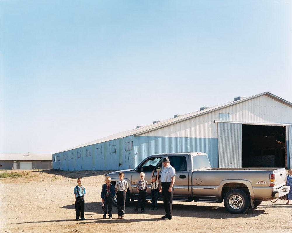 New Elm Springs Colony, Ethan, South Dakota, July 2005.