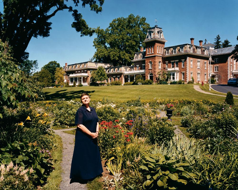 Oneida Community Mansion House, Oneida, New York, August 1996.
