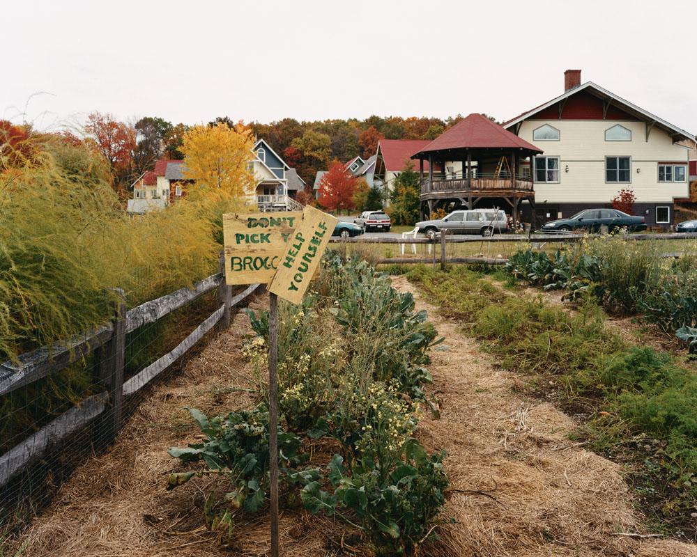 Pioneer Valley Cohousing, Amherst, Massachusetts, October 2004.
