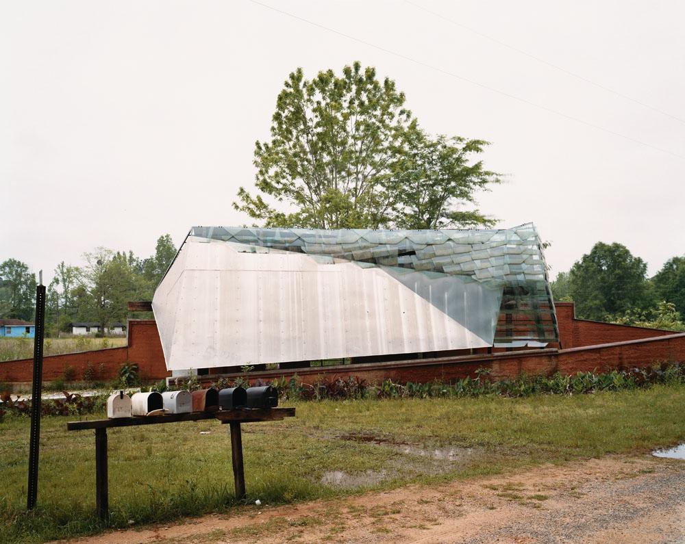 Community Center, Mason's Bend, Alabama, April 2005.