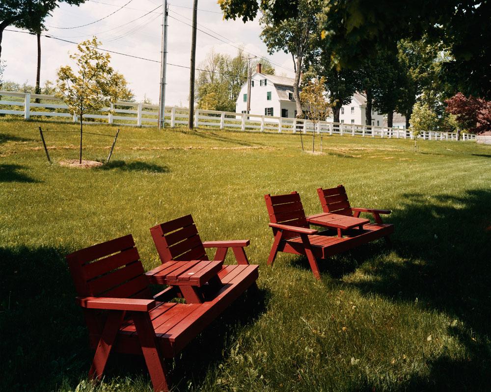 Shaker Village, Sabbathday Lake, Maine, June 2005.