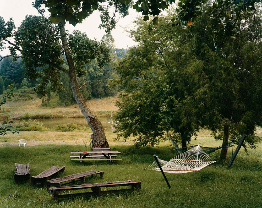 Twin Oaks, Louisa, Virginia, August 2000.
