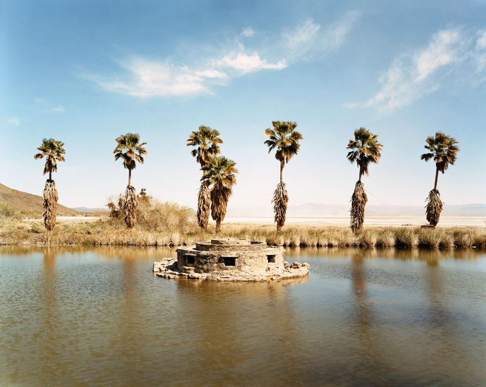 Lake Tuendae, Zzyzx Springs, California, March 2005.