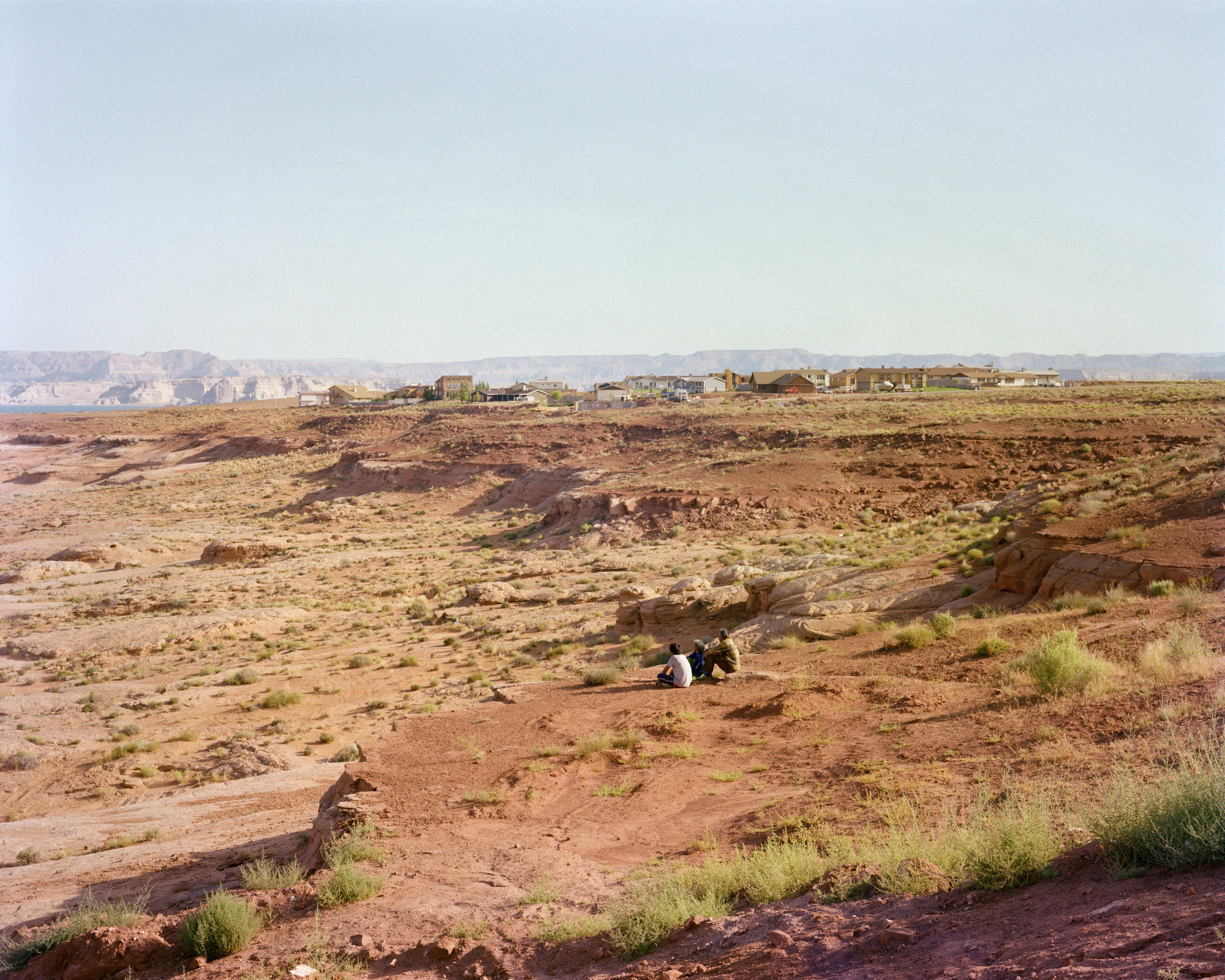 Rim View Trail, Page, Arizona, August 1983