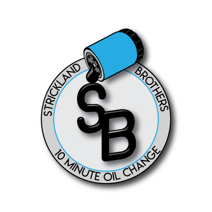 Strickland Brothers 10 Minute Oil Change official logo